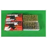 9mm Ammo- 1 Box 124 American Eagle
