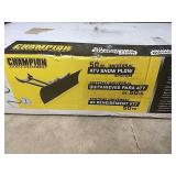 New Champion 50 in universal snow plow blade