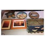 Box of Hunting/ Fishing Wall Hangers