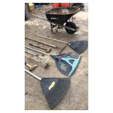 Wheel Barrow & Garden Tool Deal