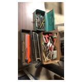 Assorted Tools, Bits, Screws, Etc.