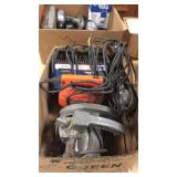 Battery Charger, Circular Saw, Jigsaw, Trouble