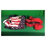 Horse Sheet & Red Sleezy Size Medium