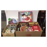 Vintage Games, Puzzles, Toy Set