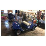 Buffalo Bills Painted Gas Yamaha Golf Cart