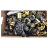 Box of Gas and Electric Lamp Parts