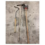 Ames Weed Whip, Garden Weasel, Double Blade Hoe