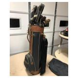 Golf Clubs w/ Bag
