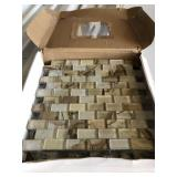 Partial Box of Mosaic Tile (4 Sheets)