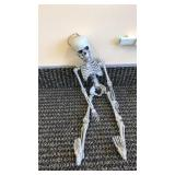 "Miniature Skeleton About 18"" Tall"