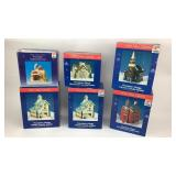 Winter Village Candle Holder & Light House