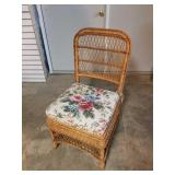 Henry Link Wicker Chair Smithsonian Collection