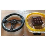 RHOX Golf Cart Steering Wheel