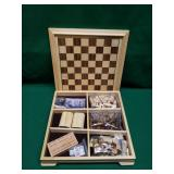 Checker/Chess/Etc Board Game Set - New