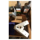 Box lot with Four Cycle Engine Oil Sawhorse