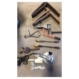 Old Tools, Clamps, Roto Jig,  Asst. Tools