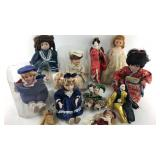 Assorted Porcelain Dolls