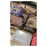 Pallet of electrical wire and Cutler Hammer