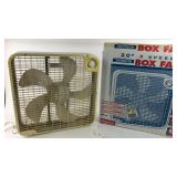 "Slimline 20"" 3 Speed Box Fan"