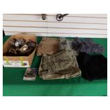 Cargo Size 36 Shorts, Fishing Line, Clock, Etc.
