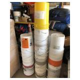 Large Quantity of 5 Gallon Plastic Buckets