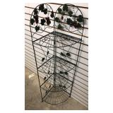 Folding Metal Shelf Unit