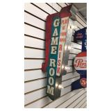 New Double Sided Marquee Game Room LED Sign