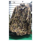 XL Camo Wool Shirt