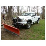 2008 Dodge 2500 4X4 With Hemi Engine & Plow