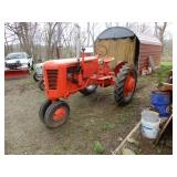 Case VAC Farm Tractor - Starts & Runs