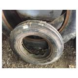 Used Front Tractor Tire - Ribbed 5.50 x 16SL