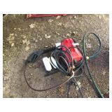 Small Portable Pressure Washer - Electric