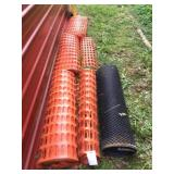 6 Partial Rolls Snow Fence-