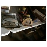 Router, 2-Skill Saws, Miter Saw, Etc