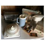 Lot-Pitchers, Toaster Oven, Pillow, Covered Dish,