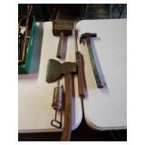 Hatchet,  Hammer, Wooden Hammer, Handle Etc.