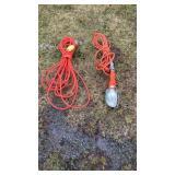 Drop Cord Extension Cord & Light