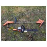 B & D Electric Hedge Trimmer & Sears Weed Trimmer