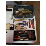 Toolbox With Assortment Of Hand Tools
