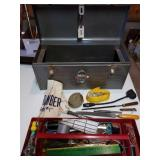Craftsman Tool Box With Variety Of Tools
