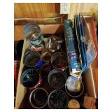 Box Of Miscellaneous Nails, Bolts, Screws,  etc.