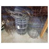 Various Rolls Of Wire Garden Fencing