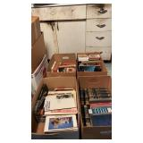 4 Boxes of Assorted Books