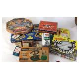 Board Games, Cards, Horseshoe Game, Etc.