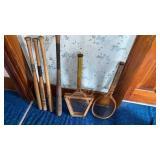Wooden Baseball Bats and Tennis Rackets
