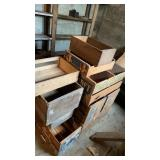 Numerous Wooden Crates