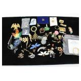 Costume Jewelry - Pins & Brooches