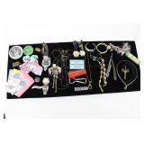 Costume Jewelry, Trinkets, Etc