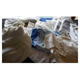 Vintage Linens, Tableclothes, Curtains, Etc