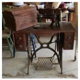 Vintage Singer Treadle Sewing Machine